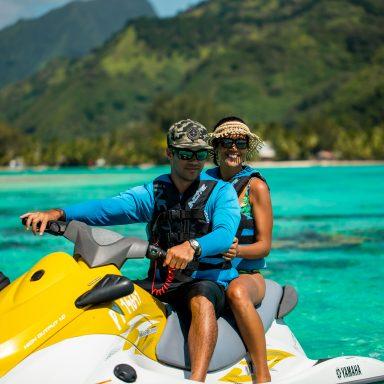 Tour en Jet Ski sur l'île de Moorea 012