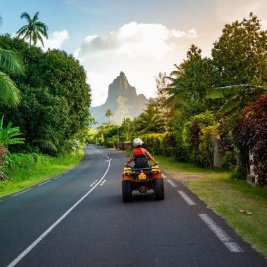 Tour en ATV sur l'île de Moorea 002