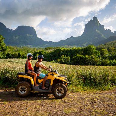 Tour en ATV sur l'île de Moorea 003