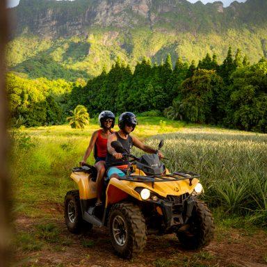 Tour en ATV sur l'île de Moorea 013