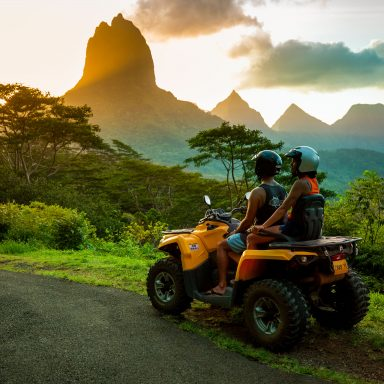 Tour en ATV sur l'île de Moorea 014