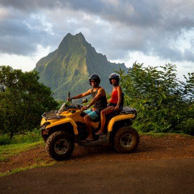 Tour en ATV sur l'île de Moorea 015